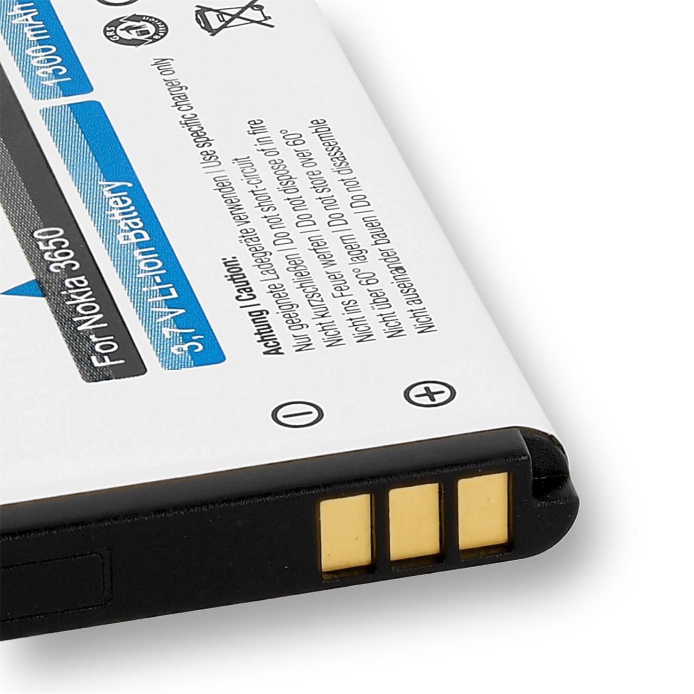 PolarCell Akku für Philips Babyphone Avent SCD600 SCD610 1ICP06//35//54 Batterie