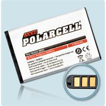 PolarCell Li-Polymer Replacement Battery for Nokia 100