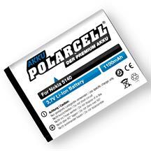PolarCell Li-Ion Akku für Nokia 5140 | 5140i