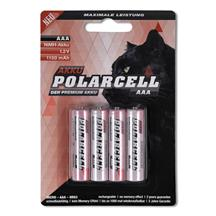 PolarCell High Power Micro | AAA | HR03 | KR03 | LR03 | R3 | L3 Ni-MH Rechargeable Battery [4pcs-Blister]