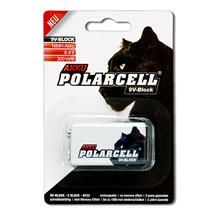 PolarCell 9V-Block | E-Block | 6LR61 | 6F22 | PP3 Ni-MH Rechargeable Battery [1pc-Blister]