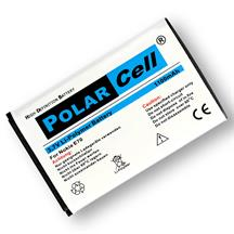 PolarCell Li-Polymer Akku für Nokia E70