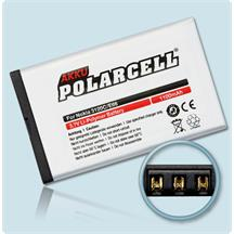 PolarCell Li-Polymer Akku ersetzt Originalakku Nokia BL-4U