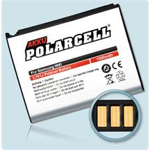 PolarCell Li-Polymer Replacement Battery for Samsung Omnia (SGH-i900)