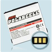 PolarCell Li-Polymer Akku für HTC Touch Diamond (P3700)