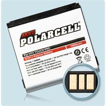 PolarCell Li-Polymer Replacement Battery for HTC Touch Pro (T7272)