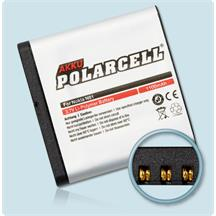 PolarCell Li-Polymer Akku für Nokia N81 | N81 8GB