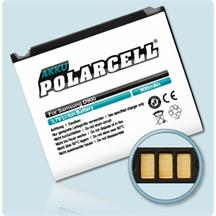 PolarCell Li-Ion Replacement Battery for Samsung SGH-D900