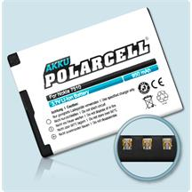 PolarCell Li-Ion Replacement Battery for Nokia 7510 Supernova