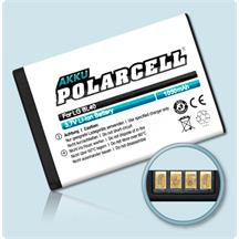 PolarCell Li-Ion Akku für LG New Chocolate (BL40)