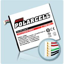 PolarCell Li-Polymer Akku für HTC One S (Z520e)