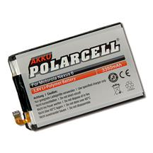 PolarCell Li-Polymer Replacement Battery for Motorola Google Nexus 6 (XT1100)