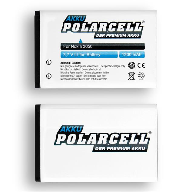 PolarCell Li-Ion Replacement Battery for Nokia 6230 | 6230i