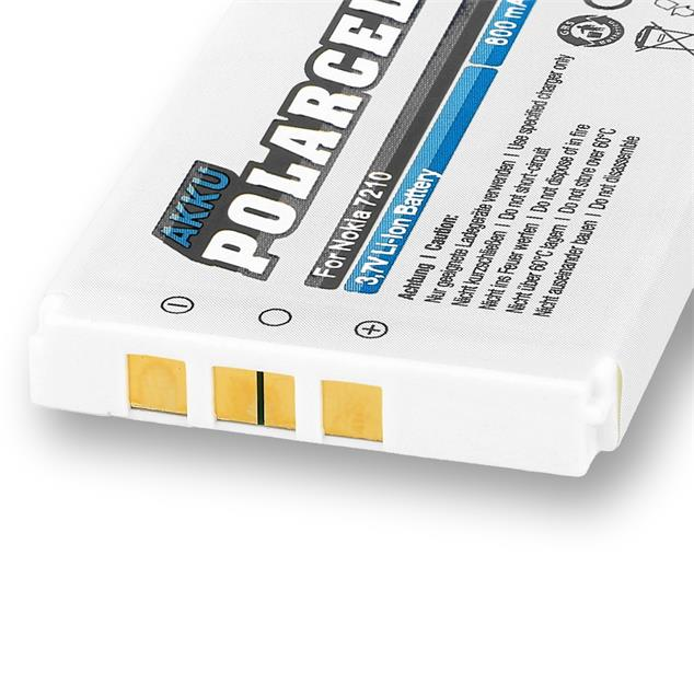 PolarCell Li-Ion Replacement Battery for Nokia 7210