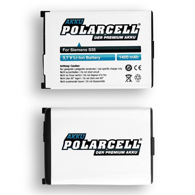 PolarCell Li-Ion Akku für Siemens Gigaset 4000s micro