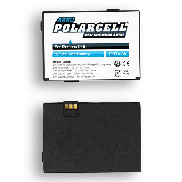 PolarCell Li-Ion Replacement Battery for Siemens C45 | C45i