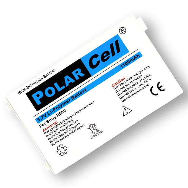 PolarCell Li-Polymer Replacement Battery for Sony Ericsson R600
