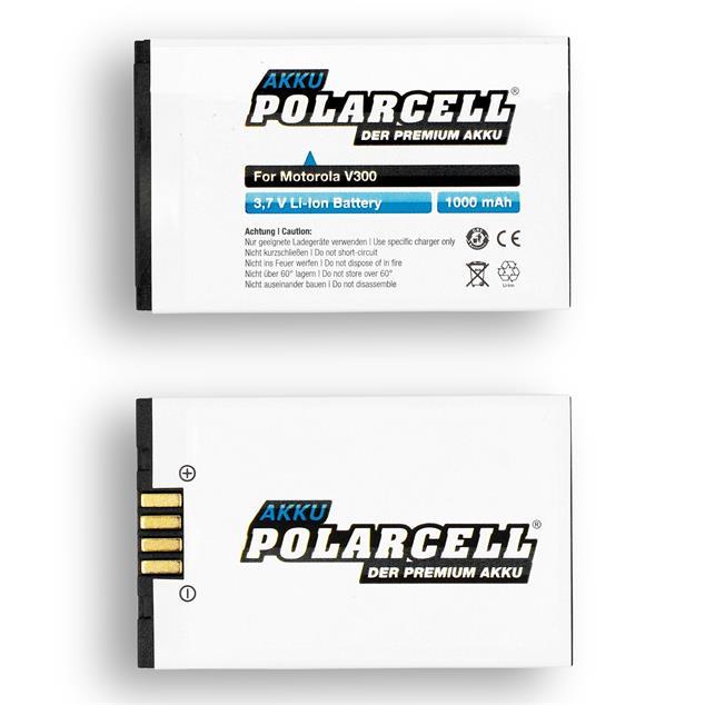 PolarCell Li-Ion Akku für Motorola V300