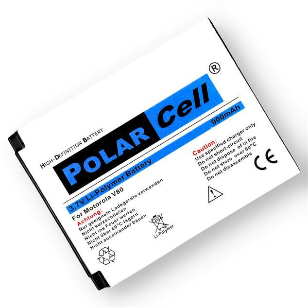 PolarCell Li-Polymer Replacement Battery for Motorola V80