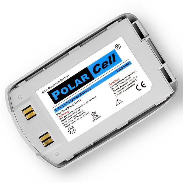 PolarCell Li-Polymer Akku für Samsung SGH-D410