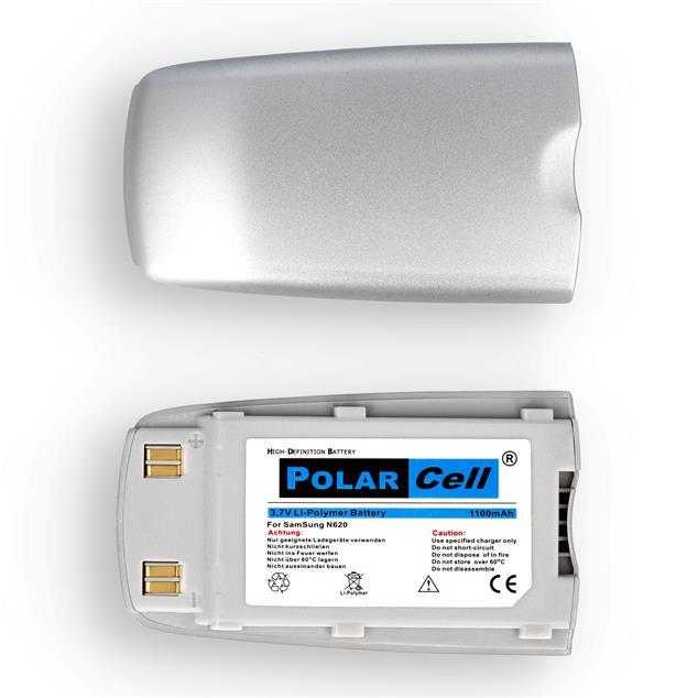 PolarCell Li-Polymer Akku für Samsung SGH-N620