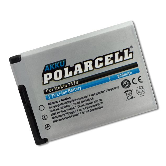 PolarCell Li-Ion Replacement Battery for Nokia 7370