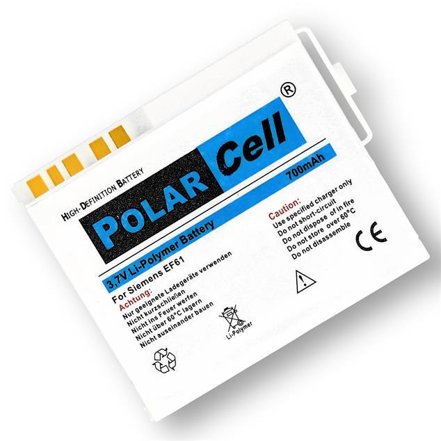 PolarCell Li-Polymer Akku für BenQ-Siemens E61