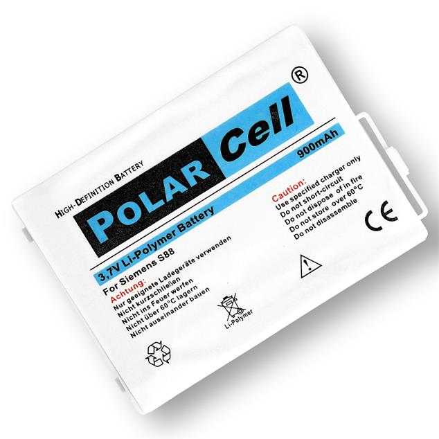 PolarCell Li-Polymer Replacement Battery for BenQ-Siemens S88