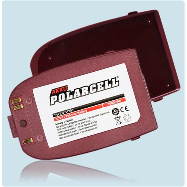 PolarCell Li-Polymer Akku für LG C1200