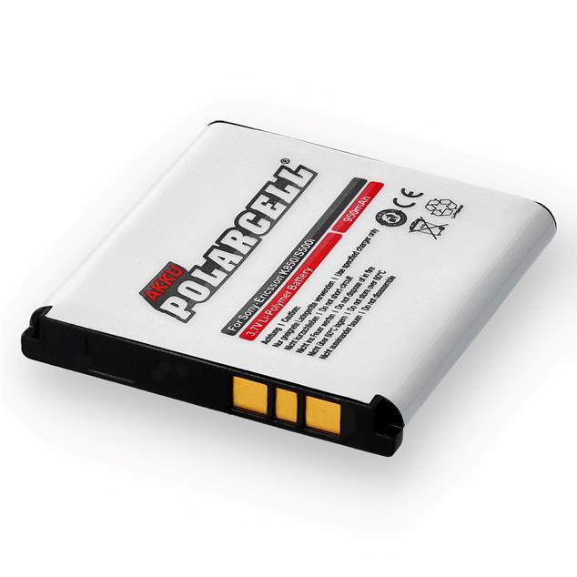 PolarCell Li-Polymer Akku für Sony Ericsson K850i