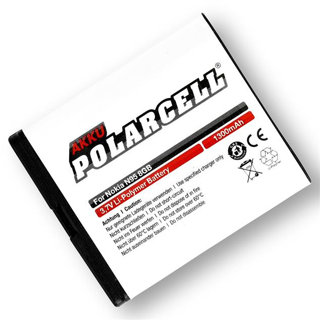 PolarCell Li-Polymer Replacement Battery for Nokia N95 8GB