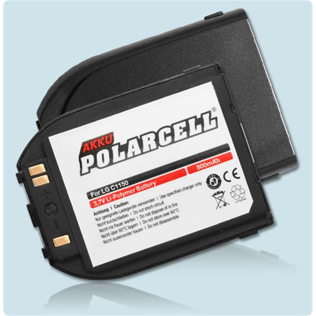 PolarCell Li-Polymer Replacement Battery for LG C1150