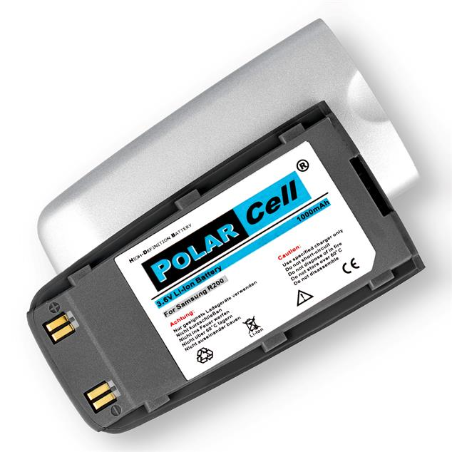 PolarCell Li-Ion Replacement Battery for Samsung SGH-R200