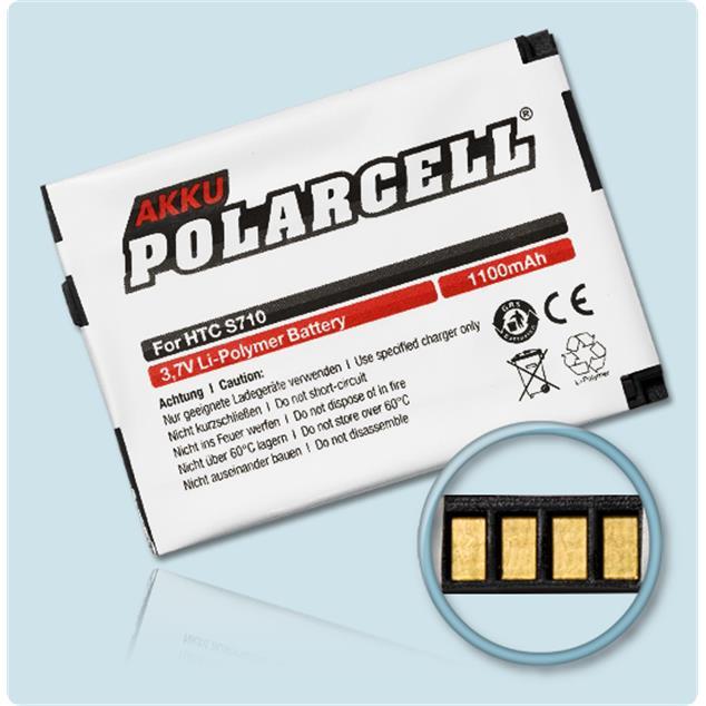 PolarCell Li-Polymer Akku für HTC Cavalier (S630)