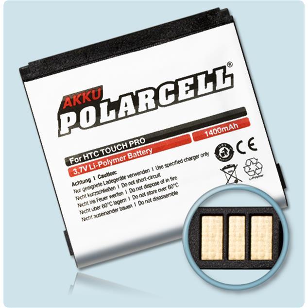 PolarCell Li-Polymer Akku für HTC Touch Pro (T7272)