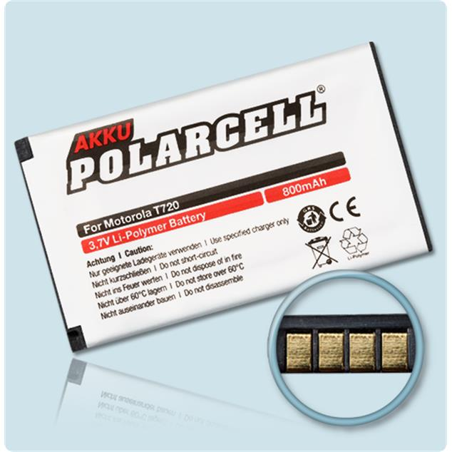 PolarCell Li-Polymer Replacement Battery for Motorola T720 | T720i