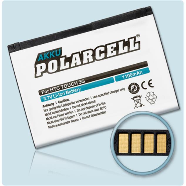 PolarCell Li-Ion Akku für HTC Touch 3G (T3232)