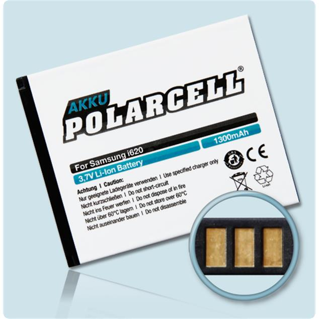 PolarCell Li-Ion Replacement Battery for Samsung SGH-i620