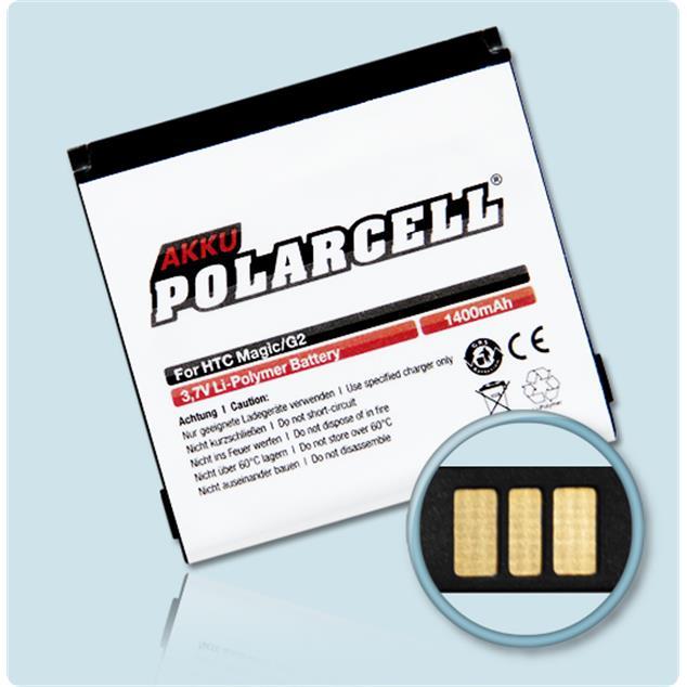 PolarCell Li-Polymer Akku für HTC Magic (A6161)