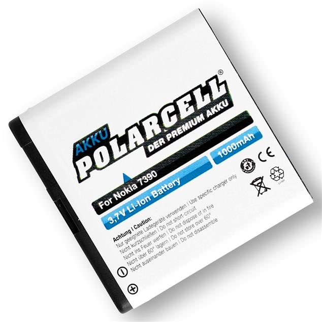 PolarCell Li-Ion Replacement Battery for Nokia 7390