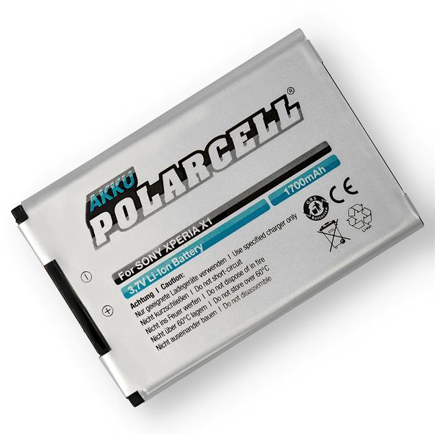 PolarCell Li-Ion Akku für Sony Ericsson Xperia X1