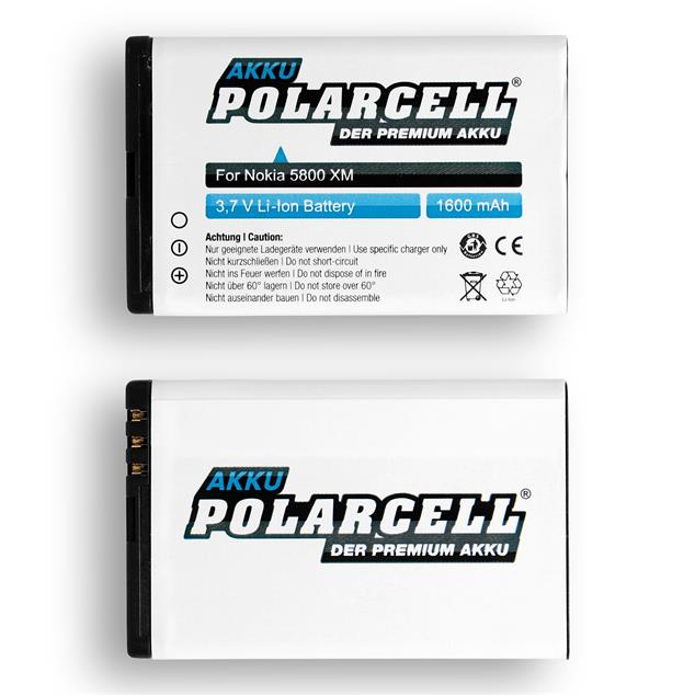 PolarCell Li-Ion Akku ersetzt Originalakku Gigaset V30145-K1310-X456