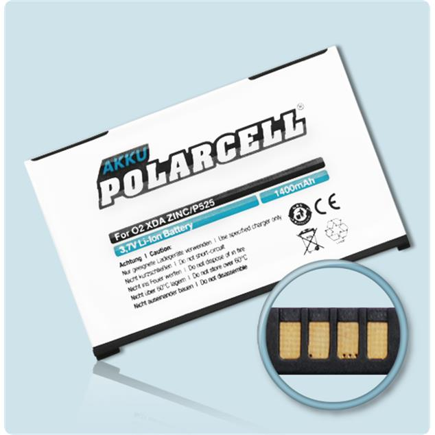 PolarCell Li-Ion Replacement Battery for O2 XDA Zinc
