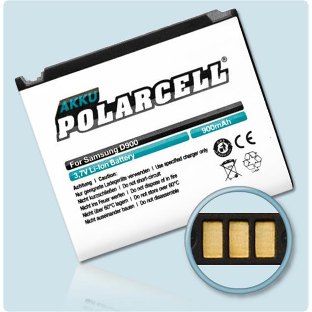 PolarCell Li-Ion Akku für Samsung SGH-D900