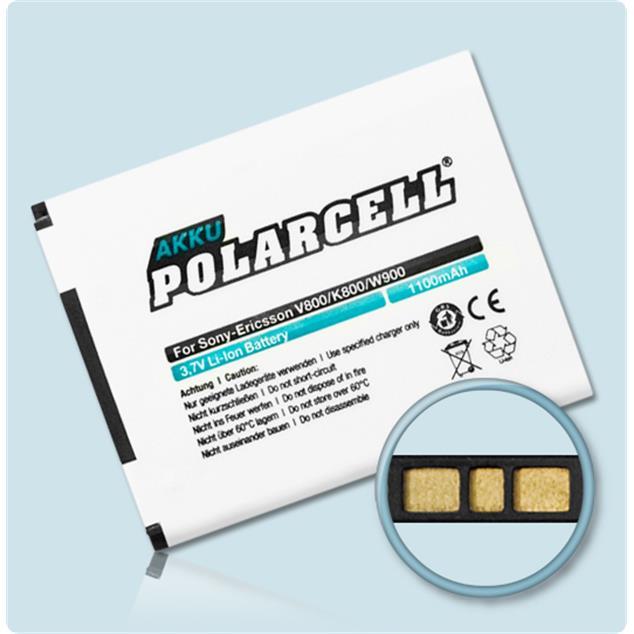 PolarCell Li-Ion Akku für Sony Ericsson V800