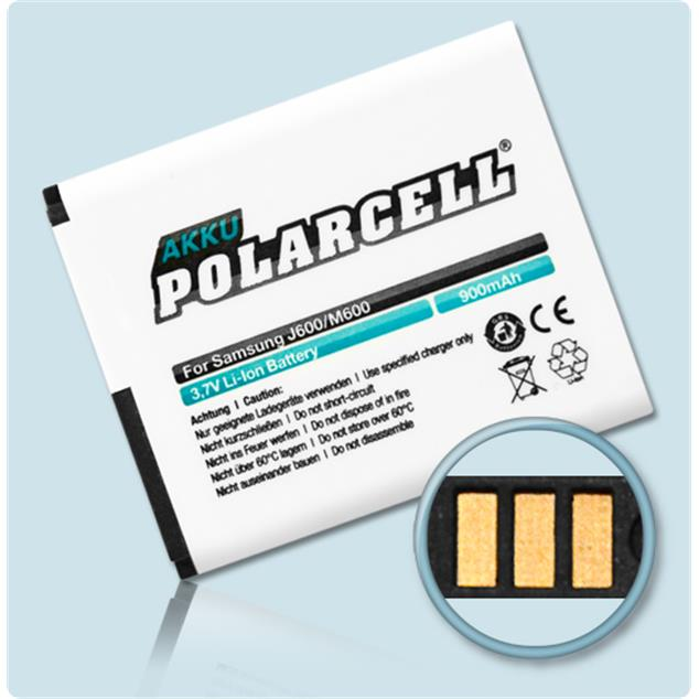 PolarCell® Li-Ion Replacement Battery for Samsung SGH-J600
