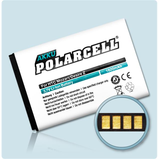 PolarCell Li-Ion Replacement Battery for HTC Desire Z (A7272)
