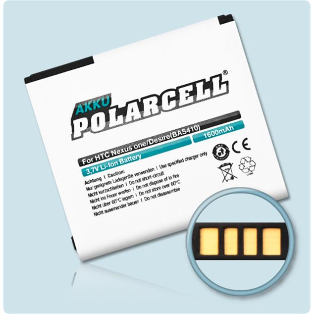 PolarCell Li-Ion Replacement Battery for HTC Desire (A8181)