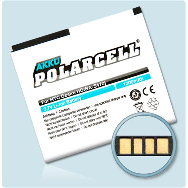 PolarCell Li-Ion Replacement Battery for HTC Desire HD (A9191)