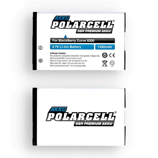 PolarCell Li-Ion Akku für BlackBerry Curve 8300